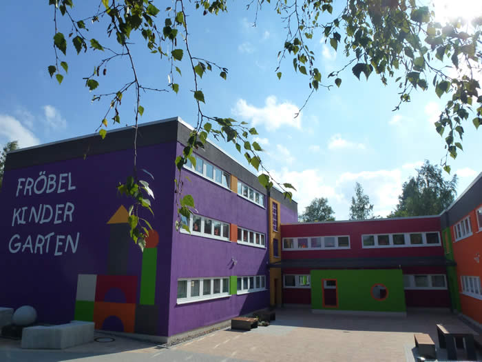 """Der Kindergarten """"Friedrich Fröbel"""" in Suhl"""